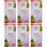 (6 PACK) - Heath And Heather - Apple & Cinnamon Herbal Tea | 20 Bag | 6 PACK BUNDLE