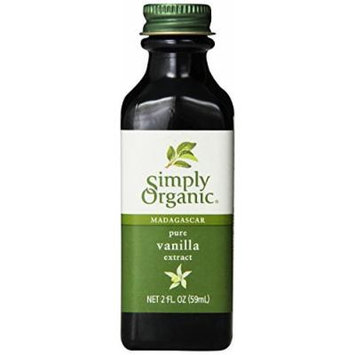 Madagascar Pure Vanilla Extract, 2 fl oz (59 ml) by Simply Organic