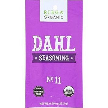 Riega Foods, Seasoning, Organic, Dahl, Gf, Pack of 8, Size - 0.90 OZ, Quantity - 1 Case