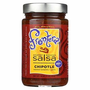 Frontera Foods Chipotle Salsa - Chipotle - Case of 6 - 16 oz.