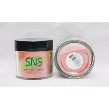 SNS Gelous Color Dipping Powder No Liquid, No Primer, No UV Light DC10 1 oz