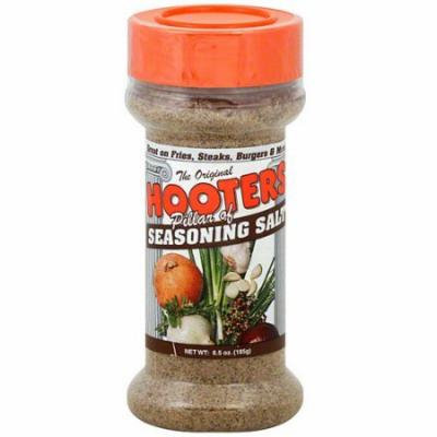 Hooters Seasoning Salt 6.5 oz (Pack of 6) WLM