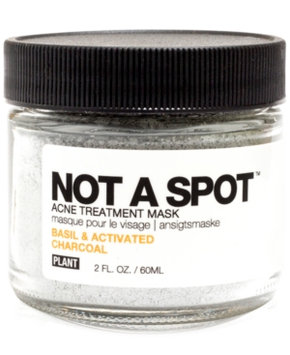 Plant Not A Spot Acne Treatment Mask - Basil & Activated Charcoal - 2oz