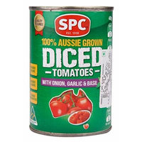 SPC Diced Tom, Onion/Garlic/Basil, 400g