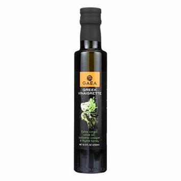 Gaea Greek Vinaigrette - Olive Oil - Case of 8 - 8.5 oz.