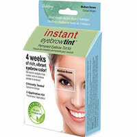Instant Eyebrow Tint Four Weeks Of Color No Pencil Or Powder - Medium Brown