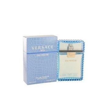 Versace Man by Versace Eau Fraiche Eau De Toilette Spray (Blue) 3.4 oz