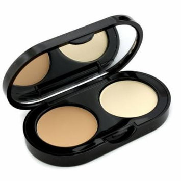 New Creamy Concealer Kit - Beige Creamy Concealer + Pale Yellow Sheer Finish Pressed Powder-3.1g/0.1