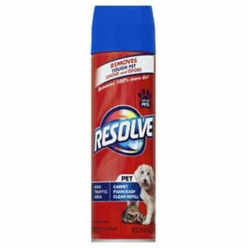 NEW Resolve 22 OZ Pet High Traffic Foam Cleaner Has A Unique Cleaning & Pr
