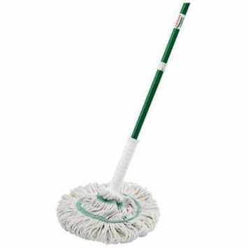 NEW Tornado Mop With Grip N' Click Ratchet Wrings More Water Easy To Chang