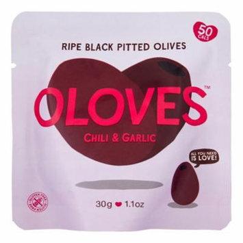 Oloves Olives, Chili & Garlic, 1.1 Oz