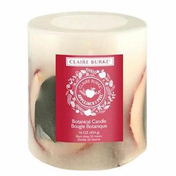 Claire Burke Applejack & Peel Botanical Candle, 18 oz, Red