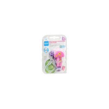 MAM Pacifier Clip Assorted 1.0 ea (pack of 1)