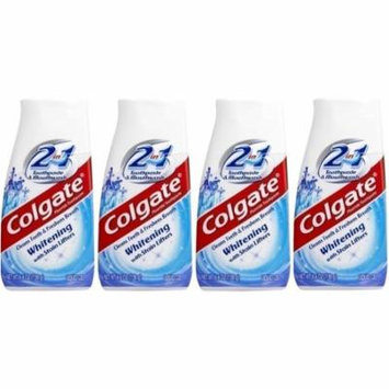 Colgate 2-in-1 Whitening Toothpaste & Mouthwash - 4.6 oz (4 packs)