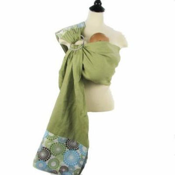 Snuggy Baby Linen Banded Ring Sling - Spa Fizz