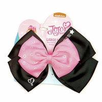 JoJo Siwa Ponytail Holder Bow (Black/Pink)