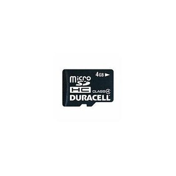 Duracell MicroSD 2 in 1 Mobile Kit with Adapter 4GB (pack of 1)