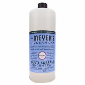 NEW 32 OZ Mrs.Meyer's Clean Day Multi Surface Concentrated Cleaner Bluebel