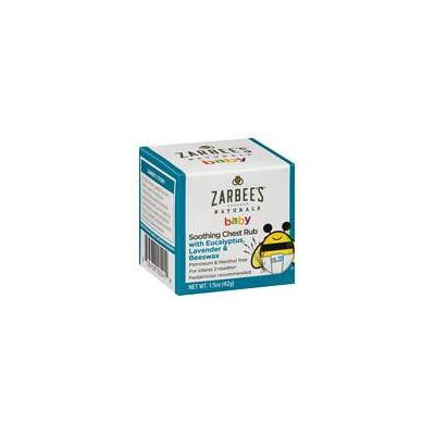 ZarBee's Naturals Soothing Baby Chest Rub 1.5 oz.(pack of 3)