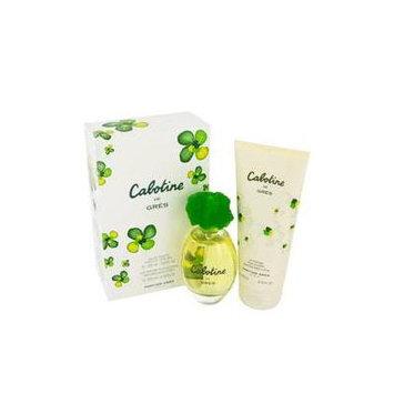 CABOTINE by Parfums Gres Gift Set -- 3.4 oz Eau De Toilette Spray + 6.7 oz Body Lotion