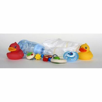 Laminated Poster Ducks Pacifier Baby Bottle Diapers Toys Poster Print 24 x 36