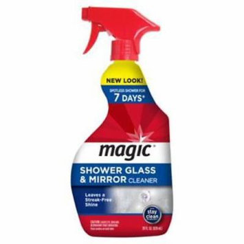 NEW Magic 28 OZ Shower Glass & Mirror Cleaner Leave Shower Glass & Mirror