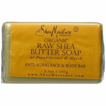 4 Pack - Shea Moisture Raw Butter Facial Bar Soap 3.5 oz