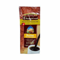 Teeccino Mediterranean Herbal Coffee Hazelnut - 11 oz - Case of 6 - 70%+ Organic - Gluten Free - Dairy Free - Yeast Free - Wheat Free - Vegan