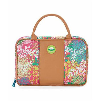 Lily Bloom Ralou Cosmetic Case in Floral Reef Pink