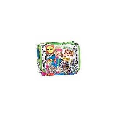 Alex Color a Pony Purse Kit (pack of 2)