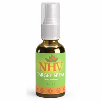 NHV Target Spray - Natural Flea, Tick, and Mosquito Repellent for Cats, Dogs, Pets