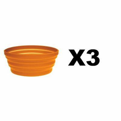 Ultimate Survival Technologies 20-02076-08 FlexWare Bowl 1.0, Orange