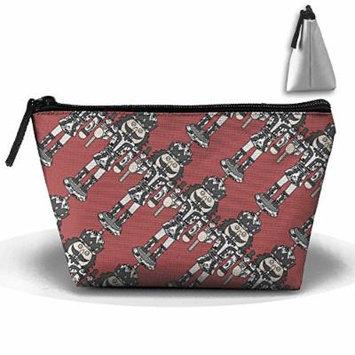 Cosmetic Pouch Ballet Nutcracker Trapezoid Cosmetic Bag Portable Makeup Pouch Premium Accessories