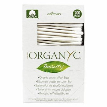 Organyc - Organic Cotton Wool Swabs - 200 Piece(s) (pack of 4)
