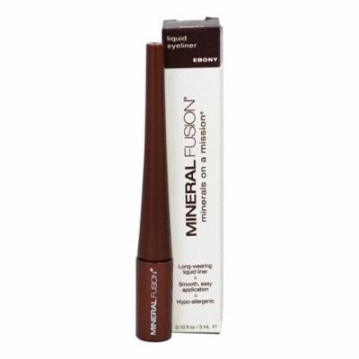 Mineral Fusion - Liquid Mineral Eyeliner Ebony - 0.1 oz. (pack of 2)