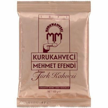 Turkish Coffee Kurukahveci Mehmet Efendi 2 X 100g - TURKISH ROASTED - GROUND COFFEE 2x100g will be shipped for a year