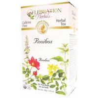 Celebration Herbals - Organic Caffeine Free Herbal Orange Rooibos Herbal tea - 24 Tea Bags CLEARANCE PRICED
