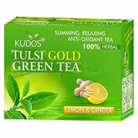 Kudos Ayurveda Tulsi Gold Green Tea Lemon & Ginger