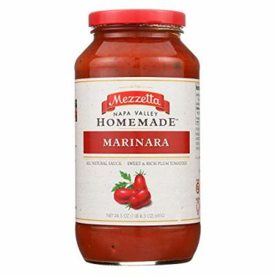 Mezzetta Pasta Sauce - Homemade Style Marinara - Case of 6 - 25 oz.