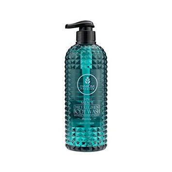 Panrosa Premier 25.4 FL oz 3-in-1 Men's Regiment Daily Body Wash, for Shower, Shampoo and Shave. Proudly Made In USA (Artillery)