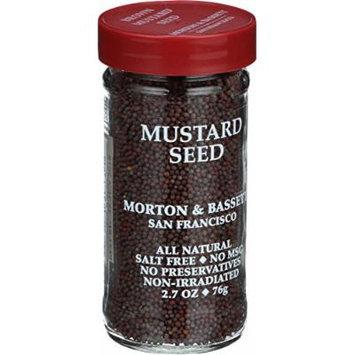 Morton and Bassett Seasoning - Mustard Seed - Brown - 2.7 oz - Case of 3