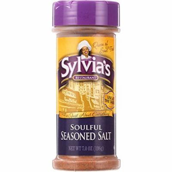 Sylvias Seasoned Salt - Soulful - 7 oz - case of 12