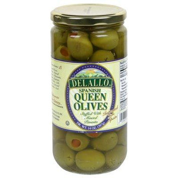 De Lallo Stuffed Queen Olives (6x14Oz)