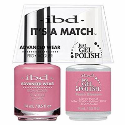 ibd Advanced Wear Color Duo - Peach Blossom #655 UV Gel Color