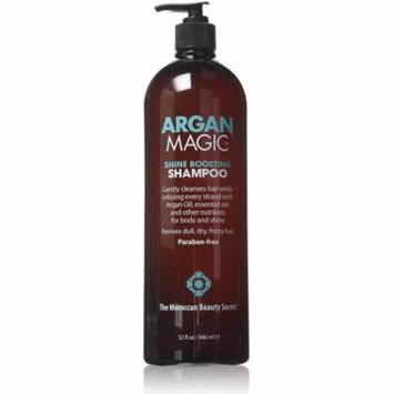 4 Pack - Argan Magic Shine Boosting Shampoo 32 oz