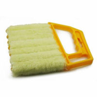 Soft Blinds and Shutters Brush Hand Held Flow-Thru Dirt Cleaner Vertical Brush