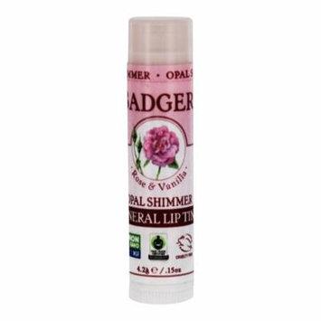 Badger - Mineral Lip Tint Rose & Vanilla Opal Shimmer - 0.15 oz. (pack of 4)