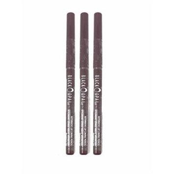 Pack of 3 Black Opal AUTOMATIC LIP Eye Liner Definer .011 oz.PLUMBERRY 027811025251