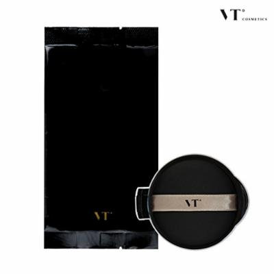 [VT COSMETICS] VT X BTS Collagen Pact 11g - Collagen Pact + Stickers + Poster (#23 Black (REFILL))