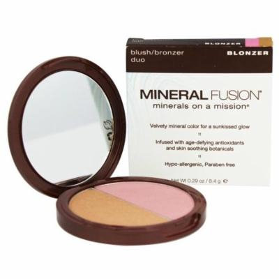 Mineral Fusion - Blonzer Blush & Bronzer Duo - 0.29 oz. (pack of 4)